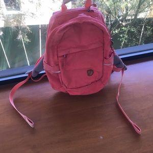 Fjallraven min backpack